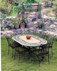 Patio Furniture Chairs Dining Room Lovable Mosaic Bistro Table For Inspiring Home