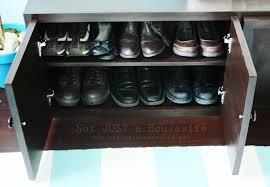 Bench With Shoe Storage Furniture Closet Storage Diy Shoe Ideas For Small Spaces With