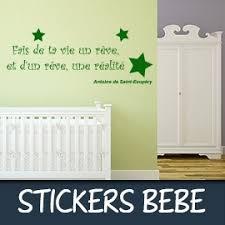 stickers pour chambre bebe stickers citation bébé stickhappy com stickers citation pour la déco