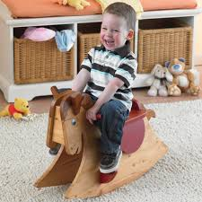 quick and easy rocking horse woodworking plan from wood magazine