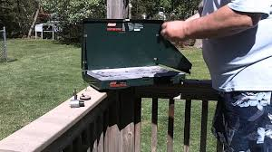 coleman stove manual cleaning a coleman model 5430 2 burner propane camp stove youtube