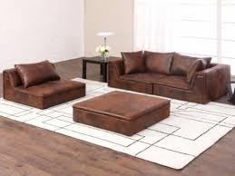 canapé cuir vieilli marron canap microfibre cuir vieilli canape microfibre fauteuil