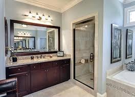 how to frame mirror in bathroom oak framed mirrors bathroom juracka info