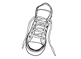 outline shoe free clipart clipart
