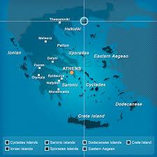 island on map map of thassos island greece greeka com