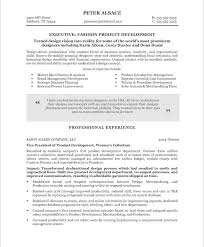 Fashion Resume Templates Fashion Executive Free Resume Samples Blue Sky Resumes