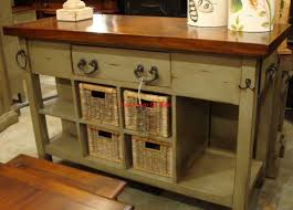 country kitchens with islands black vintage distressed kitchen island cottage distressed