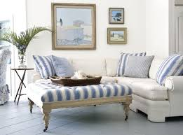 blue and white ottoman willow bee inspired well dressed home no 37 accessorizing