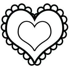 roses and hearts coloring pages eliolera com