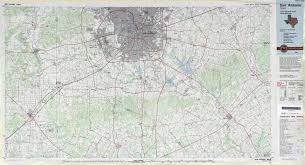 Map Of San Antonio Texas Texas Topographic Maps Perry Castañeda Map Collection Ut
