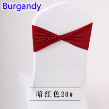 sashes for sale colour burgandy spandex sashes lycra sash for chair cover spandex