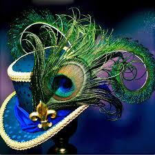 mardi gras hat mini top hat mardi gras fleur de lis 110 00 via etsy top hat