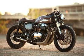 honda 750 the 750 cb750 cafe racer by strapped mfg u2013 bikebound