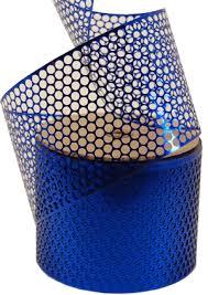 honeycomb ribbon craftmuse honeycomb ribbon blue