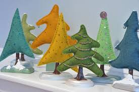 terrific holiday tree crafts the cottage market