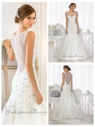 Wedding Dresses With Straps Mermaid Beaded Straps U0026 Bodice V Neck Wedding Dresses With High