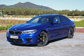 first bmw m5 2018 bmw m5 better on road wilder on track roadshow