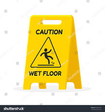 Wet Floor Images by Wet Floor Sign Isolated Flat Vector Stock Vector 368655383
