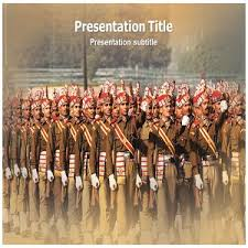amazon com indian army powerpoint ppt templates indian army