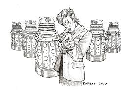 doctor who vs the daleks by bungle0 on deviantart