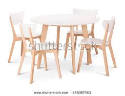 Round Dining Table With Armchairs Table And Chairs Stock Images Royalty Free Images U0026 Vectors