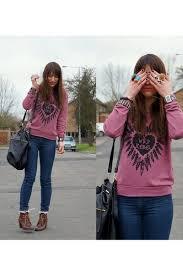internacionale sweatshirts h u0026m boots secondhand jeans primark