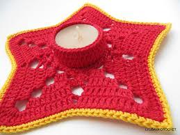 crochet pattern tea light candle holder diy christmas gifts
