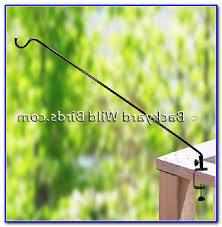 deck bird feeder pole mount decks home decorating ideas