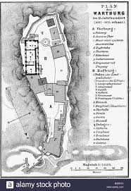 architecture floor plans wartburg thuringia built 1067 1075