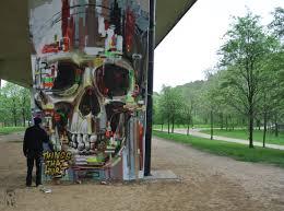 Bordeaux Street Art Skull Graffiti Street Art