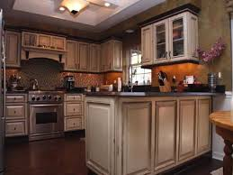 Cream Kitchen Cabinets With Glaze Kitchen Cabinets Sacramento Kenangorgun Com