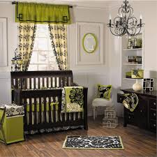 luxury baby room feat lime green window curtain with valances also