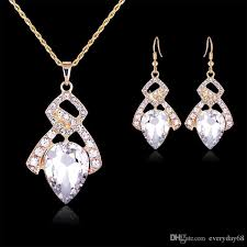 fashion necklace earring sets images 2018 indian jewelry sets necklace earrings luxurious birthday jpg