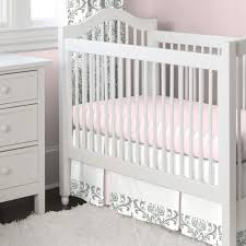 Bed Skirt For Crib Crib Bed Skirt Elephant Lustwithalaugh Design How To Make Crib