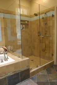 Shower Wall Ideas by Bathroom Lovely Bathroom Decoration Using Limestone Tile Shower