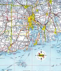 Block Island Map Rhode Island Aaroads Rhode Island