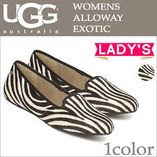 ugg womens alloway shoes zebra allsports rakuten global market alloway flat shoes ugg