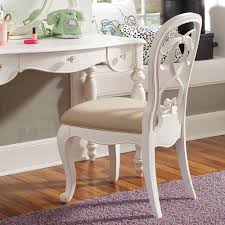 Vanity Seat Furniture White Lacquer Teak Wood Vanity Stool With Carved