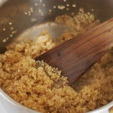 cuisiner quinoa quinoa grillé le topping santé mail0ves