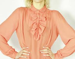 bow blouse etsy