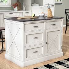 farmhouse kitchen islands cottage country kitchen islands carts you ll wayfair
