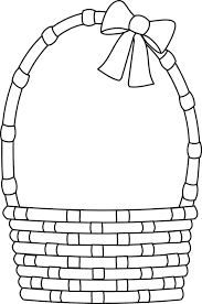 blank easter basket clipart clip library