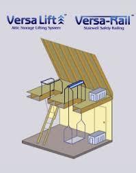 paul little construction company versa lift attic storage system