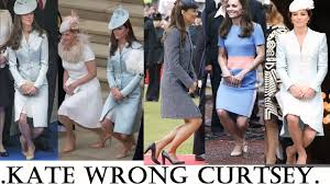 lady charlotte diana spencer why duchess of cambridge performs a wrong curtsey lady diana