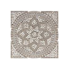 shop floors 2000 medallions multi colored mosaic travertine floor