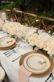 ivory and gold wedding table top decor wedding table settings