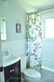 navy blue and white bathroom decor white tiles of standing shower