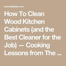 The  Best Wood Cabinet Cleaner Ideas On Pinterest Cleaning - Cleaner for wood cabinets in the kitchen