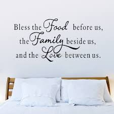 home decor picture more detailed picture about hot bless the hot bless the food removable shelf art characters writing vinyl pvc decal wall sticker mural home