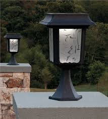 solar lights for driveway pillars solar light posts for driveways wehanghere